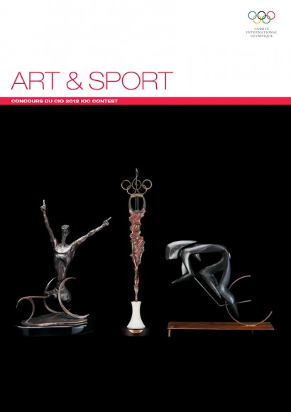 IOC - ART & SPORT 2012 - Book - 82 pages / © International Olympic Committee