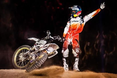Robbie Maddison - Red Bull X-Fighters - Madrid / © Swatch