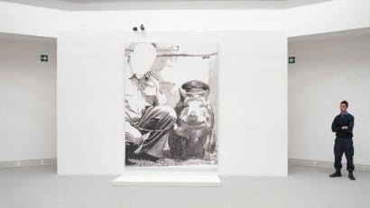 Sigmar Polke - Polizeischwein - 54th Venice Biennale / © Swatch